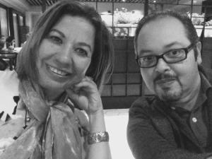 Con Ileana Álvarez González