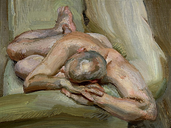 Pintura de Lucian Freud