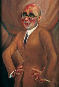 Pintura de Max Beckmann