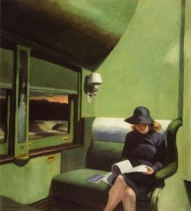 Compartment C, Car 293, Edward Hopper (1938)