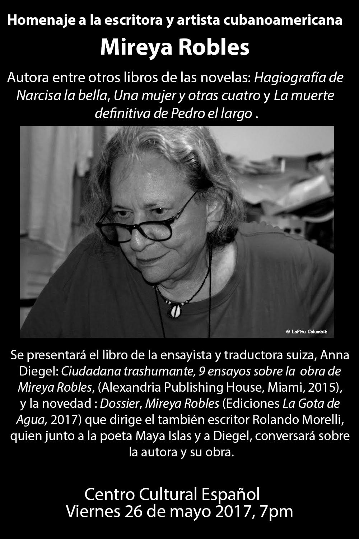 Homenaje A Mireya Robles En Miami